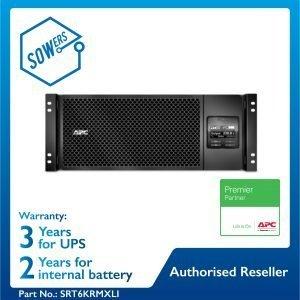 SRT6KRMXLI APC Smart-UPS SRT 6000VA RM 230V