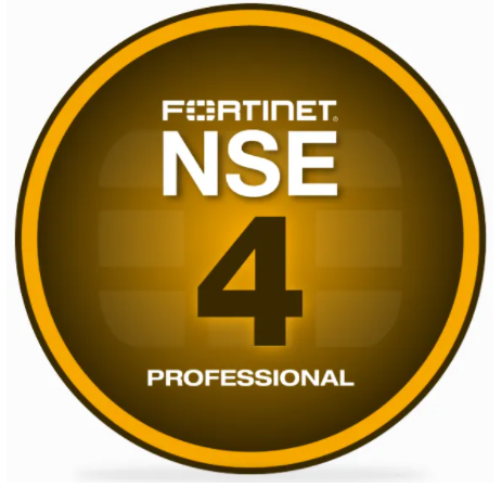 Sowers is awarded and certified Fortinet NSE4