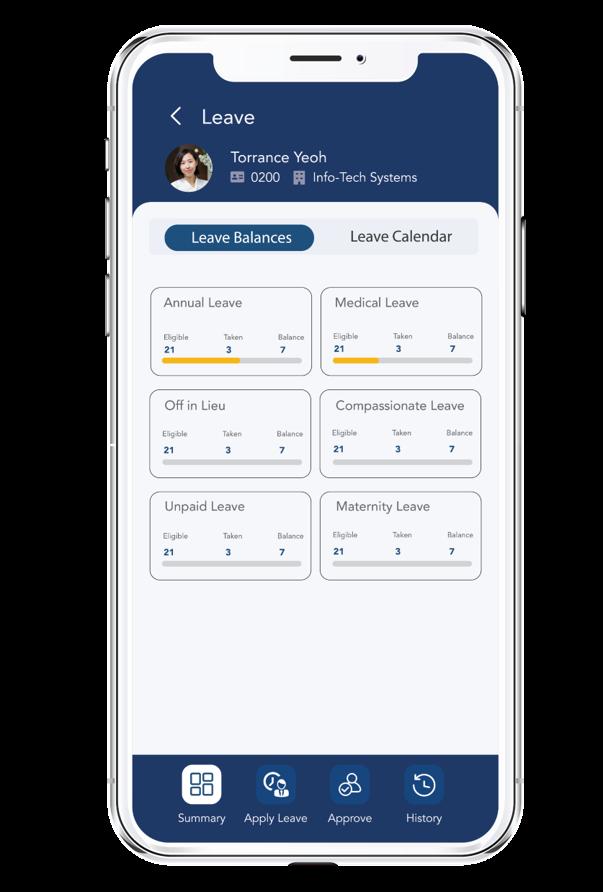 HR Mobile App (Leave)
